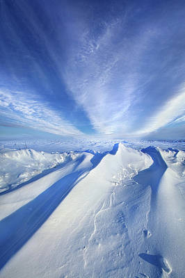 Snow Drifts Photograph - Life Below Zero by Phil Koch