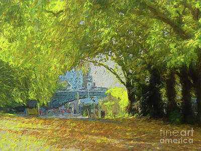 Digital Art - Life Beyond The Trees by Leigh Kemp