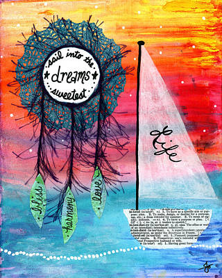 Life Boat Sweet Dreams Original by Julia Ostara From Thrive True dot com