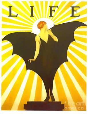 Digital Art - Life Cole Phillips 1927 by Steven Parker
