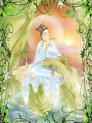 Life-extending Kuan Yin 1 Art Print