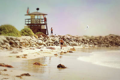 Photograph - Life Guard by Diana Angstadt
