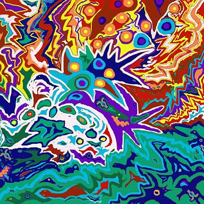 Painting - Life Ignition by Julia Woodman