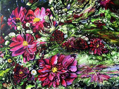 Life In A Bloom Field Art Print