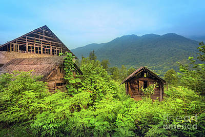 Empty House Photograph - Life In A Mountains by Svetlana Sewell