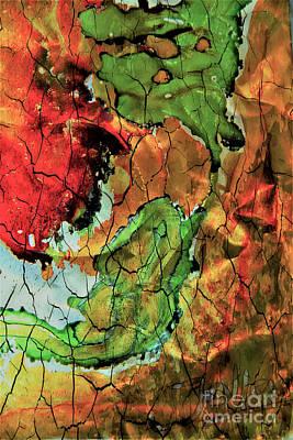 Mixed Media - Life In Colour by Jolanta Anna Karolska