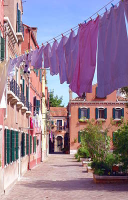 Photograph - Life In Murano by Valentino Visentini