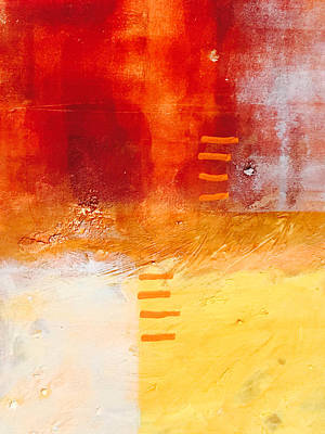 Painting - Life In Orange by Nancy Merkle