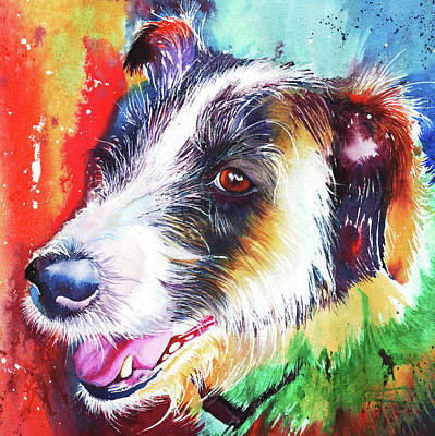 Painting - Life In The Old Dog Yet by Peter Williams