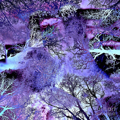 Digital Art - Life In The Ultra Violet Bush Of Ghosts  by Silva Wischeropp
