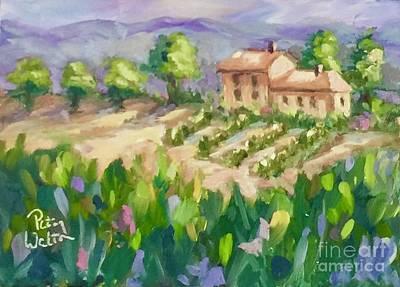 Painting - Life In Tuscany by Patsy Walton