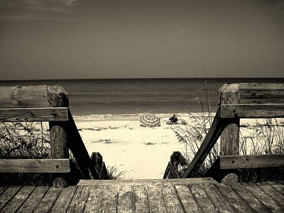 Black Is Beautiful Photograph - Life Is A Beach by Susanne Van Hulst