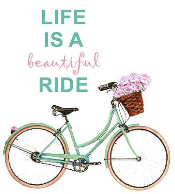 Painting - Life Is A Beautiful Ride by Heidi Kriel