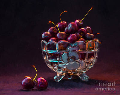 Photograph - Life Is A Bowl Of Cherries by Sue Karski