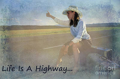 Photograph - Life Is A Highway by Bob Christopher