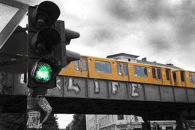 European City Digital Art - Life Is Go Go by Nathan Wright
