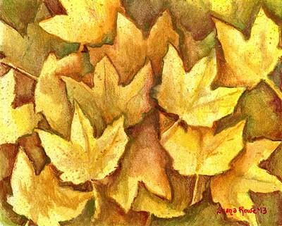 Painting - Life Is Golden by Shana Rowe Jackson