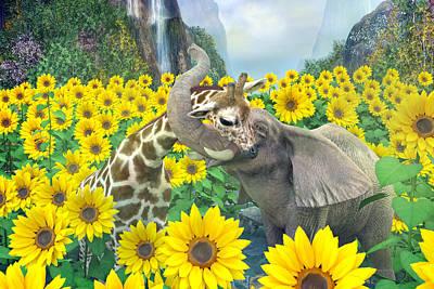 Fantasy Digital Art - Life is Good by Betsy Knapp