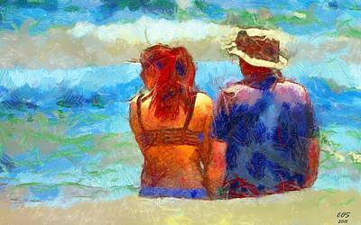 Digital Art - Life Is Good by Carrie OBrien Sibley