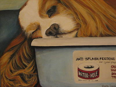 Cocker Spaniel Painting - Life Is Good by Roberta Voss