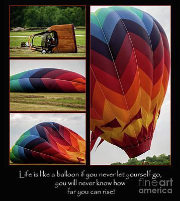 Photograph -  Life Is Like A Balloon by Deborah Klubertanz