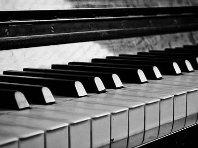 Life Is Like A Piano Art Print