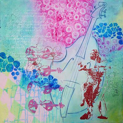 Life Is Music Love Is The Lyric Art Print by Bitten Kari