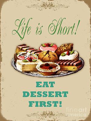 Life Is Short Typography-jp3733 Original