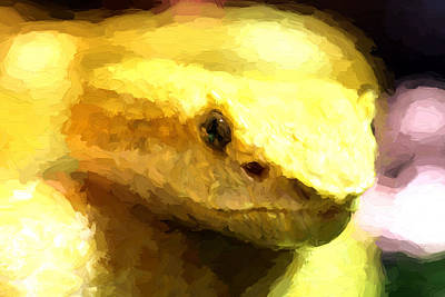 Life Is Yellow Art Print by JC Findley