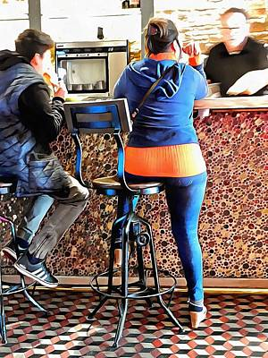 Photograph - Life Of A Bar Stool by Dorothy Berry-Lound