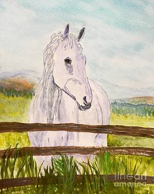 Painting - Life Of A Horse by Anne Sands