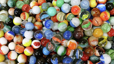 Photograph - Life Of Marbles by David Millenheft