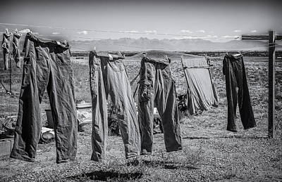 Photograph - Life Of Pants In The West by John Brink