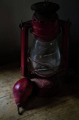 Photograph - Life Of Pear Theres A Light by Rae Ann  M Garrett