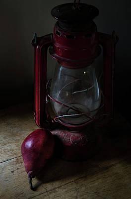 Photograph - Life Of Pear Theres A Light by Rae Ann  M Garrett