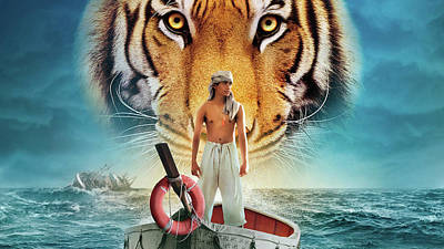 Cats Digital Art - Life Of Pi by Super Lovely