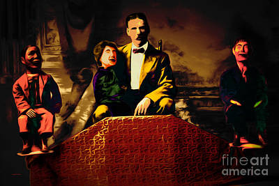 Photograph - Life Of The Ventriloquist And His Dummies 20151222 by Wingsdomain Art and Photography