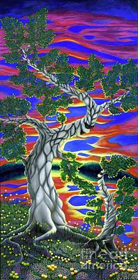 Painting - Life Of Trees by Rebecca Parker