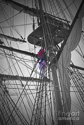 Moet Wall Art - Photograph - Life On The Ropes by Jost Houk