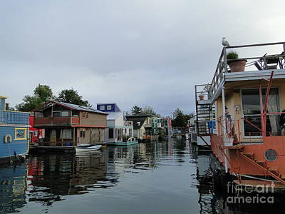 Photograph - Life On The Water by Cindy Croal