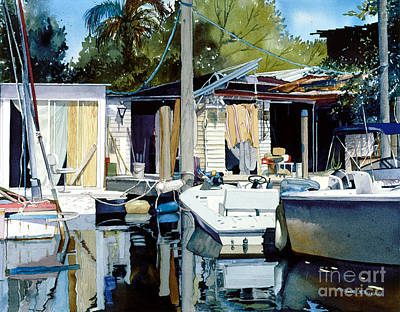 Painting - Life On The Water I by Douglas Teller