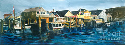 Painting - Life On The Water II by Douglas Teller