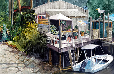 Painting - Life On The Water IIi by Douglas Teller