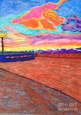 Life On The Outskirts  Art Print by Ishy Christine Degyansky
