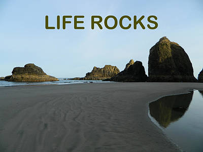 Anti-bullying Photograph - Life Rocks by Gallery Of Hope