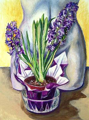 Art Print featuring the drawing Life Spring by Laura Aceto