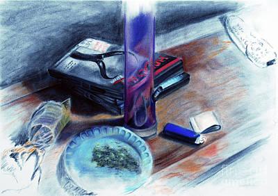 Noble Richardson Mixed Media - Life Still by Noble Richardson