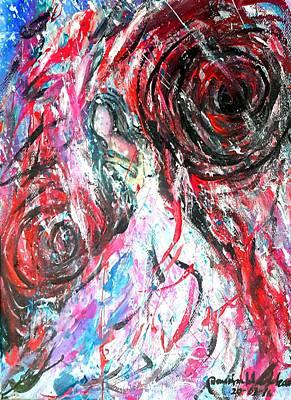 Painting - Life Storm by Wanvisa Klawklean