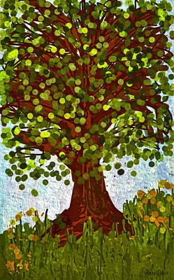 Digital Art - Life Tree by Anna Louise