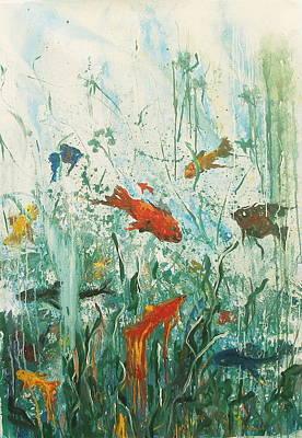 Life Under The Sea Art Print